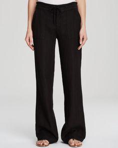 Moon & Meadow Drawstring Linen Pants