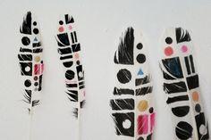 Designspiration — Patterns / Feathers