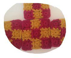 Crochet Along (CAL) Granny Square Pillow | Precious Crafts