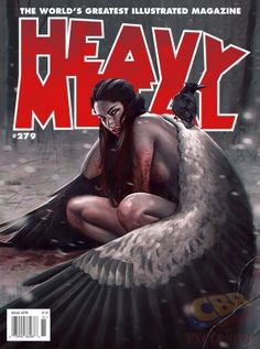 EXCLUSIVE: Heavy Metal Undergoes Editorial Shift, Morrison's First ...