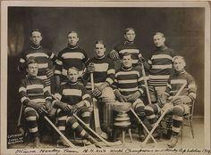 """Ottawa 's Hockey Team""- ""N.H.A World Champions -1911""(Days Gone By):"