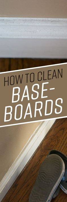 How to Clean Baseboards Weekly Cleaning, Household Cleaning Tips, House Cleaning Tips, Diy Cleaning Products, Cleaning Solutions, Deep Cleaning, Spring Cleaning, Cleaning Hacks, Cleaning Supplies