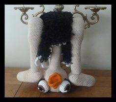 amigurumi, crochet, autruche