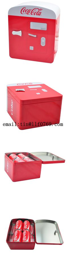 Item name:red color printing refrigerator shape tin container for Coca-Cola package from tin manufacturer in China Size:250x110x140Hmm Usage:chocolate,cookies,candy,toys,towel,T-shirt package Certification:SGS,FDA,RoHS,EN71 Email:tin@llf0769.com (Vivien Peng) Wechat:13556652469 Whatsapp:13826974570  Mobile:+86 13826974570/13631752906