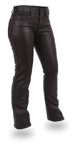 First Manufacturing Womens Alexis Leather Pants $119