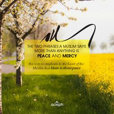 """Assalam-o-Alaikum - Peace be upon you - the casual exchange of greeting among Muslims; just like """"hello"""", """"hi"""" etc. (Quote by: Shaykh Hamza Yusuf). More Inspirational Islamic Quotes soon. InShaAllah."""