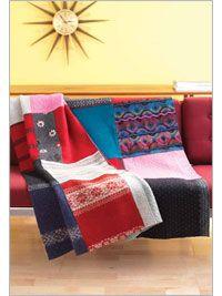 Sweater blanket - felt first