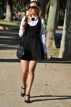 Black Dress White Shirt
