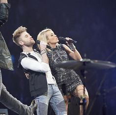 Carrie Underwood #thestorytellertour with Colton Swon