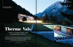 Therme Vals… my article in Luxury Aficionados April 2012 | Martin Kaufmann Photography