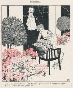 Meggendorfer Blätter by Mila Von Luttich (1872-1929), Austrian (theviennasecession)