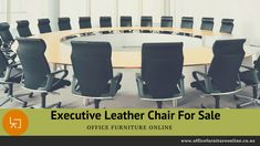 Executive Leather and Office Chair For Sale Leather Chairs For Sale, White Leather Chair, Office Chairs For Sale, Office Chairs Online, Boardroom Chairs, Movie Chairs, Office Meeting, Executive Office, Bonded Leather