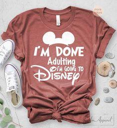 Disney Shirts/Disney Family Shirts/Park Hop Til We Drop Shirt/Disney Shirts for Women/Disney/Disney World/Disney Ears/Mickey Mouse Disney Vacation Shirts, Disney Shirts For Family, Disney Vacations, Disney Trips, Disney T Shirts, Disney Honeymoon, Voyage Disney World, Viaje A Disney World, Disney World Trip