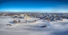 Oulu - Aerial photo from Oulu