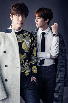 Donghae 동해 and Eunhyuk 은혁 from Super Junior 슈퍼주니어