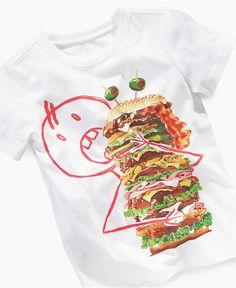 c9296c181dd6 Greendog Kids Shirt, Little Boys Graphic Tee & Reviews - Kids - Macy's