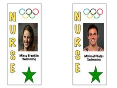Olympic themed passes for your classroom. Easy to assemble- print on card stock, laminate, cut, punch a hole at the top and attach a lanyard or piece of string. Included are 10 total passes with 5 of them honoring a woman olympian and 5 honoring a man olympian.