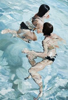 Paintings by artist Josep Moncada. More below. Josep Moncada's Website Via: Artnau Artist Painting, Figure Painting, Painting & Drawing, Art And Illustration, Figurative Kunst, Art Moderne, Art For Art Sake, Art Design, Art Plastique