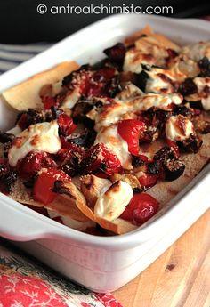 L'Antro dell'Alchimista: Lasagne di Pane Carasau con Verdure Grigliate e St...