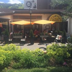 La Tour Restaurant & Bar offers the best Vail outdoor dining experience. Catch some sun and great food in Vail Village. Vail Village, Outdoor Dining, Outdoor Decor, Restaurant Bar, Colorado, Tours, Patio, Sun, Adventure