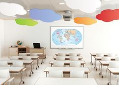 cloudsorption shaped sound absorbing ceiling panels