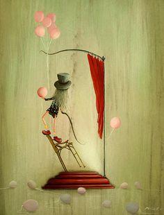 Her Own Little Sideshow......Philippe Fernandez