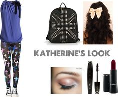 """""""kath's look"""" by elisa-fonseca ❤ liked on Polyvore"""