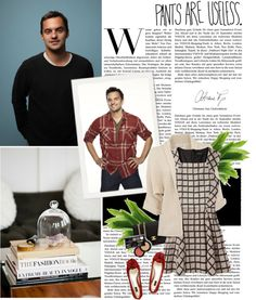 """""""Fictional Date: Playing Great American with Nick Miller"""" by cassirin ❤ liked on Polyvore"""