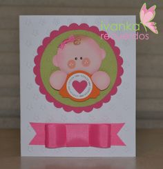invitations, baby showe baptism, paper punch, punch art