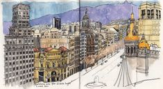 Barcelona view | por nina drawing