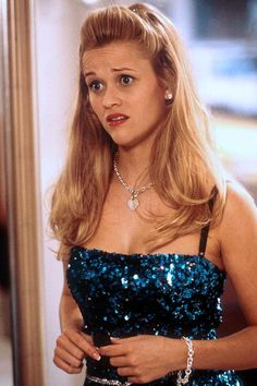 Elle Woods from Legally Blonde. Don't let anyone else determine how smart you are.