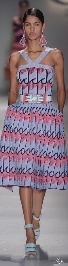 São Paulo Spring 2016 GIG Couture, love... the fabrics, the colors.... stunning cocktail dress