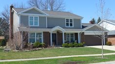 James Hardie Siding in Monterey Taupe