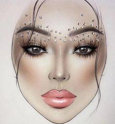 Makeup Goals, Makeup Inspo, Makeup Inspiration, Beauty Makeup, Eye Makeup, Makeup Ideas, Glam Makeup, Makeup Tips, Arabic Makeup