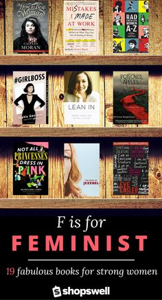 19 fabulous books for strong women, including a few favorites for young readers.