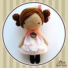 Leuke haren. magicdolls: Crochet dolls