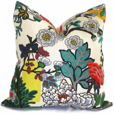 Alabaster Schumacher Chiang Mai Dragon Pillow Covers or Eurosham or Lumbar Pillow Made to order pillow cover throw pillow Pillow Cover Design, Decorative Pillow Covers, Pillow Forms, Pillow Inserts, Dragon Face, Feather Pillows, Fabric Remnants, Art Deco Era, Fabulous Fabrics