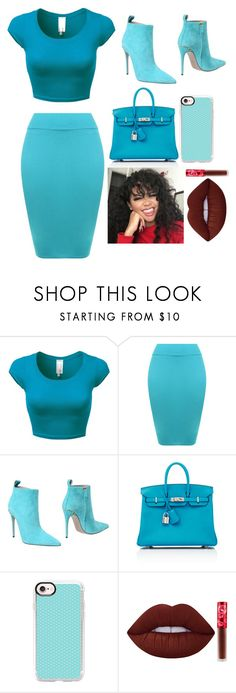 """""""Job Interview"""" by maniyah-shay on Polyvore featuring WearAll, Gucci, Hermès, Casetify and Lime Crime"""