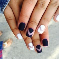 """""""Stick with a classic French manicure."""" 
