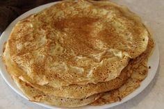 Recipe for Authentic Norwegian pancakes, traditional recipe