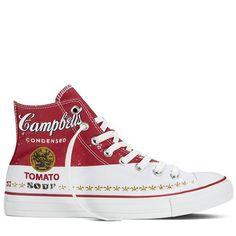 Converse + Andy Warhol #converse #allstar #andywarhol