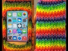 how to make a rainbow loom ipod case without the loom. I got a iPod and I rainbow loom! Rainbow Loom Case, Rainbow Phone Case, Rainbow Loom Bands, Rainbow Loom Bracelets, Rainbow Loom Tutorials, Rainbow Loom Patterns, Rainbow Loom Creations, Loom Love, Fun Loom