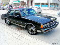 Chevrolet Caprice Classic. A truly badass looking car.