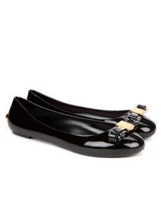 Bow jelly pump - Black | Shoes | Ted Baker