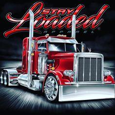 Vintage Trucks Muscle The Heavy Duty Trucks, Big Rig Trucks, Semi Trucks, Cool Trucks, Farm Trucks, Custom Peterbilt, Peterbilt Trucks, Custom Big Rigs, Custom Trucks