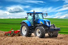 farm equipment - tractor and cultivator
