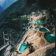 Tolantongo Hot Springs, Mexico