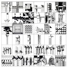 Franco Purini, Collected Concepts, c. 1980