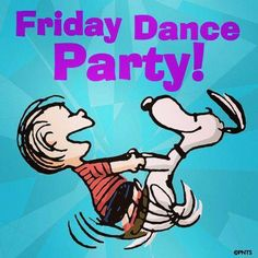 Friday Linus & Snoopy Dancing