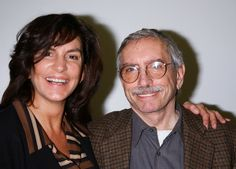 UNITED STATES - JANUARY 14:  Actress Mercedes Ruehl and playwright Edward Albee…